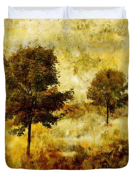 Four Trees Duvet Cover by John Edwards