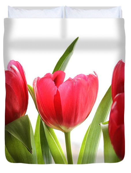 Four Tulips Duvet Cover