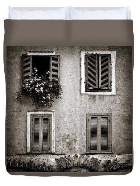 Four Windows Duvet Cover