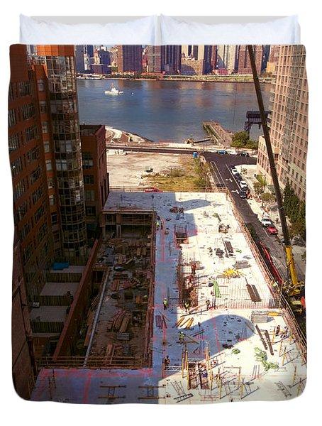 Fourth Floor Slab Duvet Cover