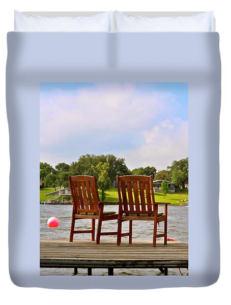 Fourth Of July Vacation Duvet Cover