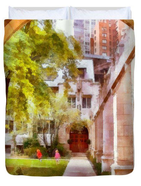 Fourth Presbyterian - A Chicago Sanctuary Duvet Cover by Christine Till