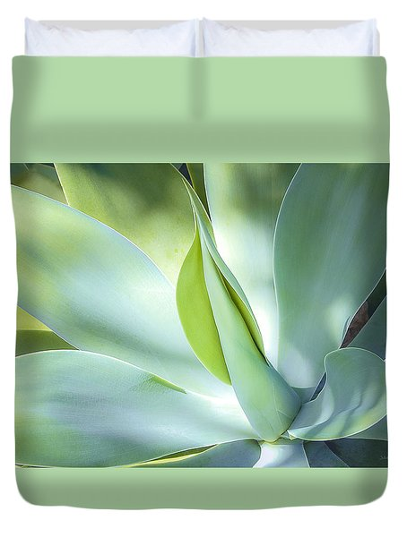 Fox Tail Agave Duvet Cover