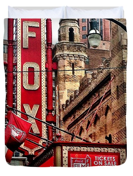 Fox Theater - Atlanta Duvet Cover