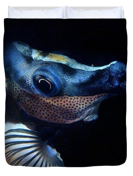 Foxface Rabbitfish Duvet Cover