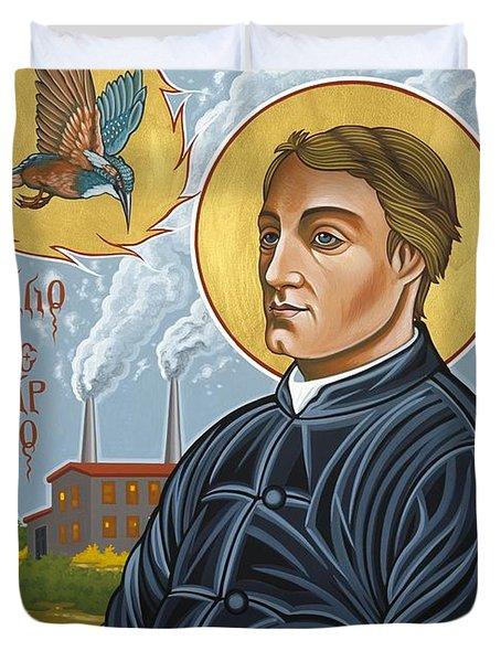 Fr. Gerard Manley Hopkins The Poet's Poet 144 Duvet Cover