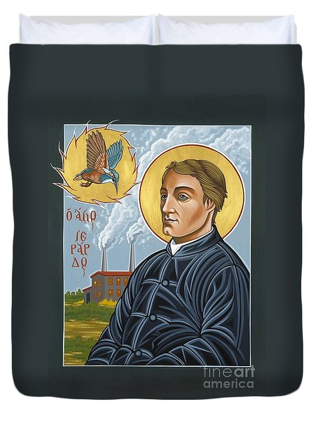 Fr. Gerard Manley Hopkins The Poet's Poet 144 Duvet Cover