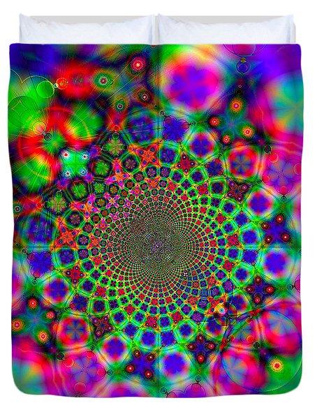 Fractal #11 Duvet Cover