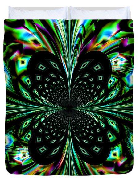 Fractal Duvet Cover by Arlene Sundby