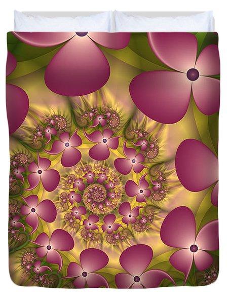 Fractal Joy Duvet Cover