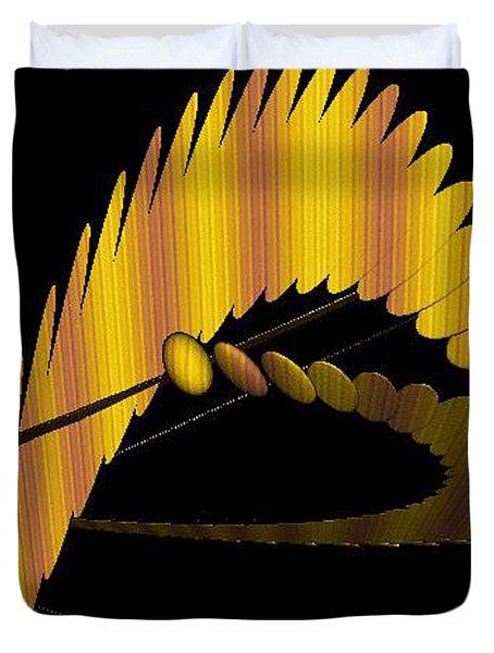 Fractals 3 Duvet Cover by Mikki Cucuzzo