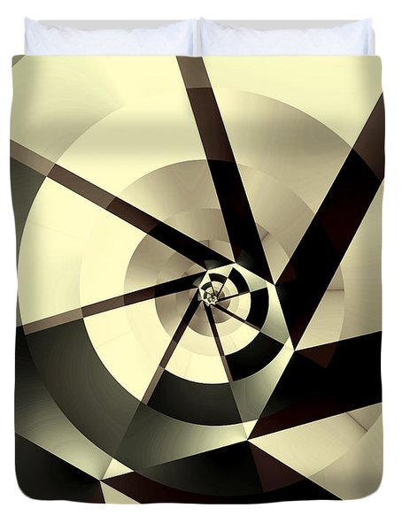 Fracture Duvet Cover by Kevin Trow