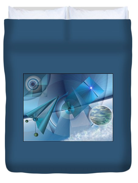 Interdimensional Duvet Cover