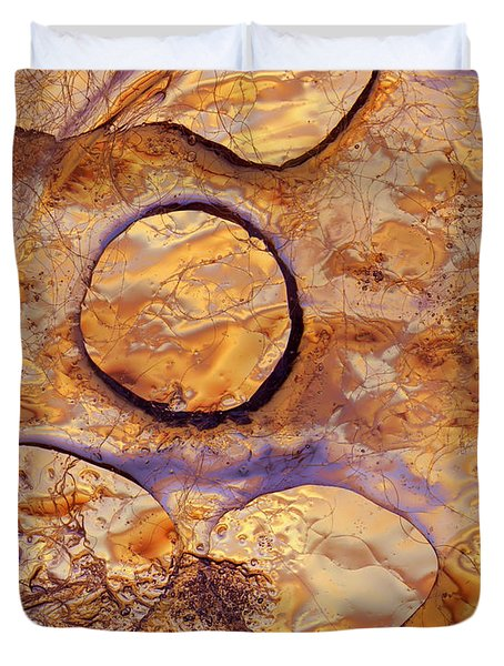 Duvet Cover featuring the photograph Fragile by Sami Tiainen