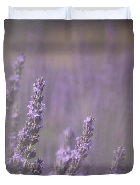 Duvet Cover featuring the photograph Fragrance by Lynn Sprowl