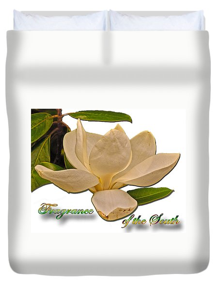 Fragrance Of The South Duvet Cover