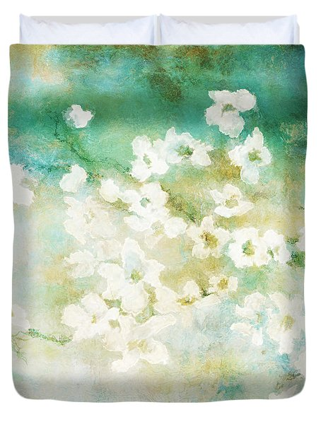 Fragrant Waters - Abstract Art Duvet Cover