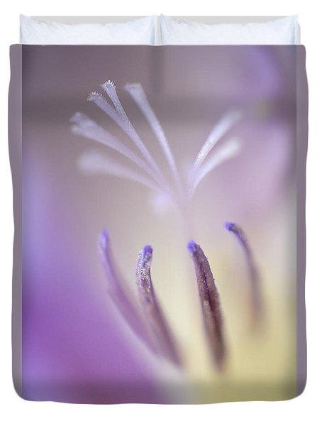 Fragrant Freesia  Duvet Cover
