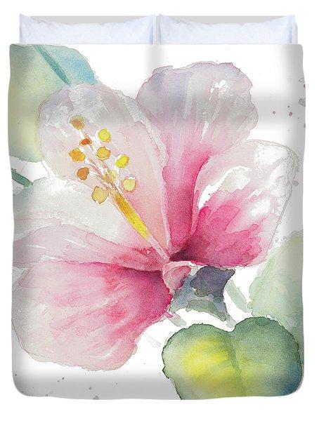Fragrant Hibiscus II Duvet Cover