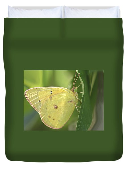 Duvet Cover featuring the photograph Frail Beauty by The Art Of Marilyn Ridoutt-Greene
