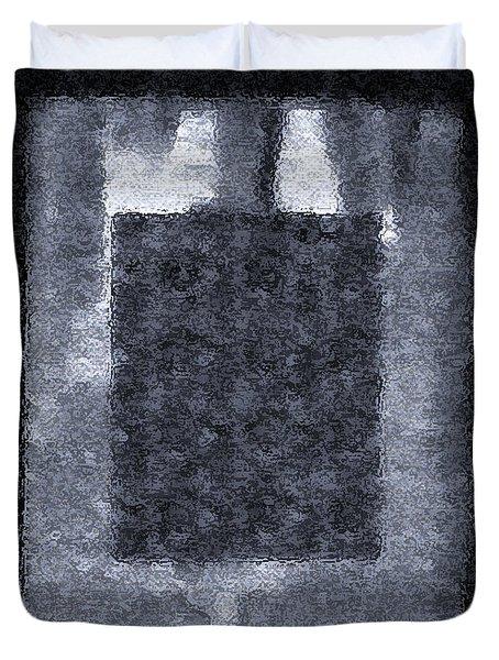 Framed And Betrayed Duvet Cover by Lenore Senior
