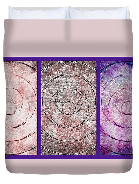 Framed Angels Wings Duvet Cover