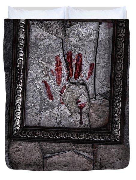 Framed Duvet Cover by Margie Hurwich