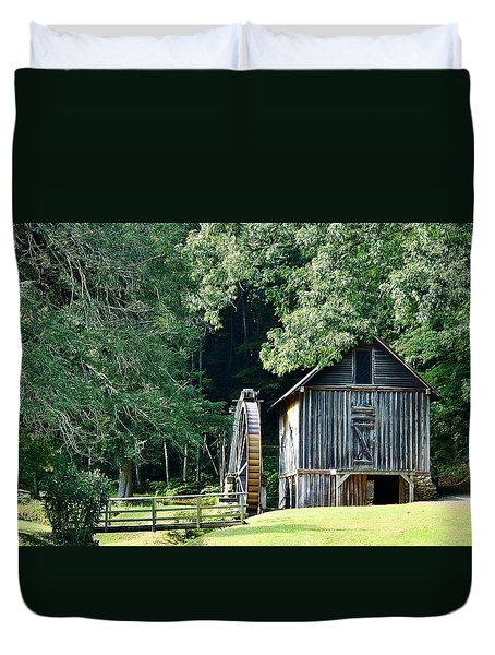 Frances Mill Duvet Cover by Marilyn Carlyle Greiner