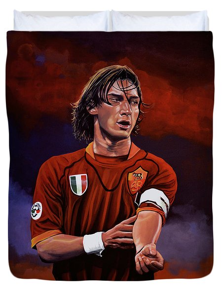 Francesco Totti Duvet Cover