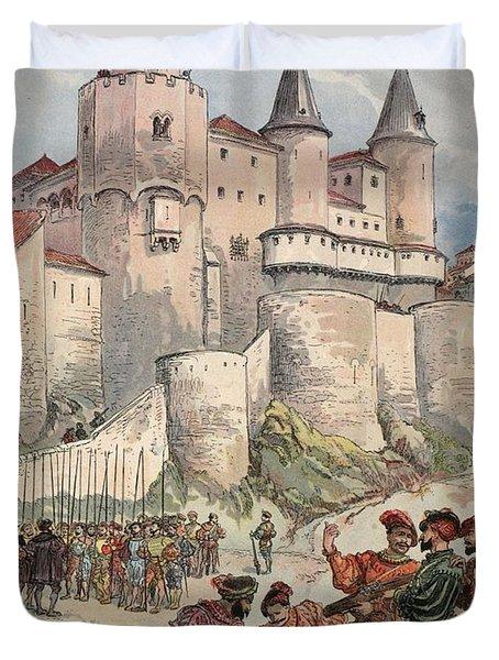 Francis I Held Prisoner In A Tower Duvet Cover