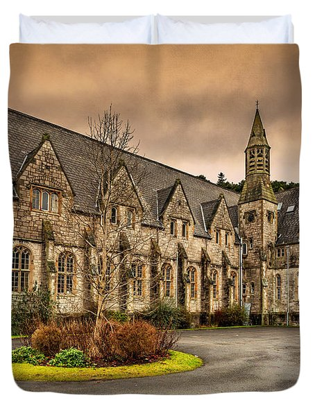 Franciscan Friary Duvet Cover by Adrian Evans