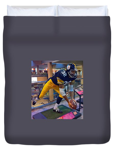 Franco's Immaculate Reception Duvet Cover