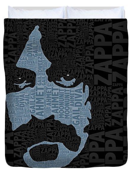 Frank Zappa  Duvet Cover by Tony Rubino