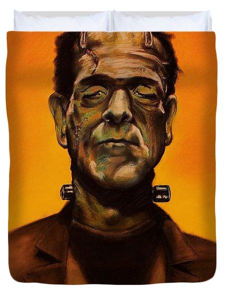 Frankenstein's Monster Duvet Cover