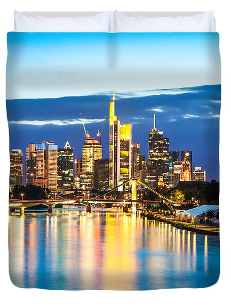 Frankfurt Am Main Duvet Cover