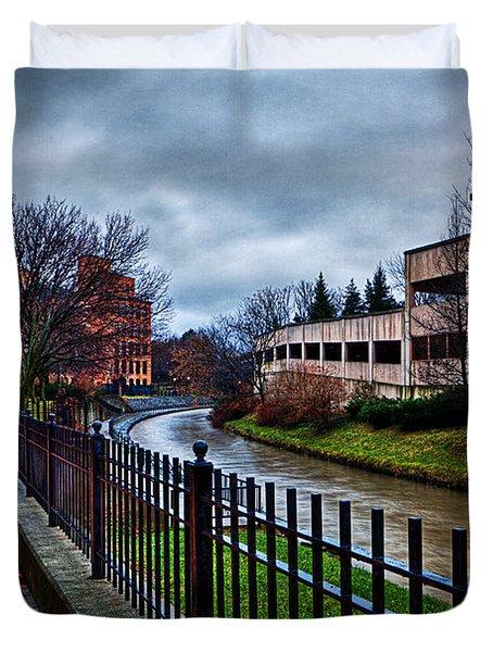 Franklin Park Duvet Cover by Everet Regal