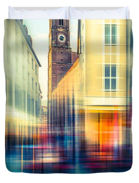 Frauenkirche - Munich V - Vintage Duvet Cover