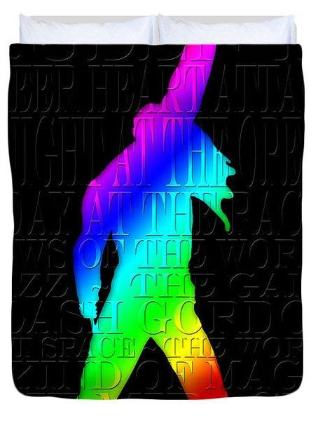 Freddie Mercury 2 Duvet Cover