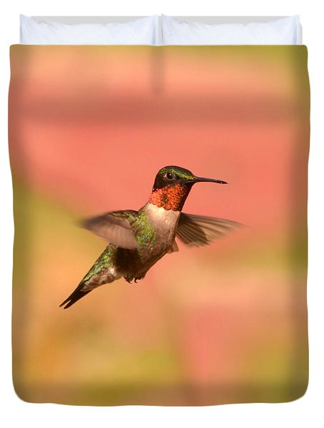 Free As A Bird Duvet Cover by Lori Tambakis