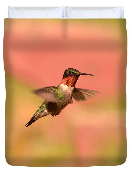Free As A Bird Duvet Cover