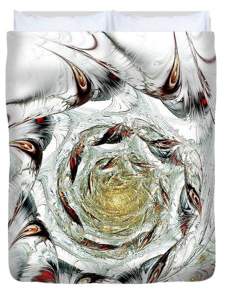 Free Association Duvet Cover by Anastasiya Malakhova
