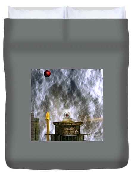 Free Energy Duvet Cover by Peter R Nicholls