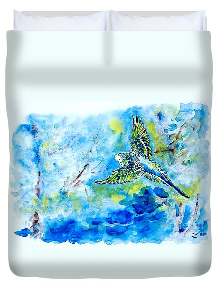 Free Duvet Cover by Zaira Dzhaubaeva