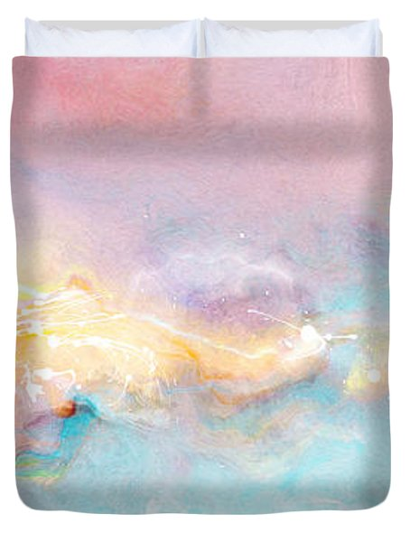 Freedom - Abstract Art Duvet Cover