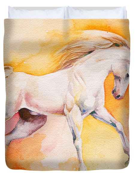 Freedom Duvet Cover by Tamer and Cindy Elsharouni