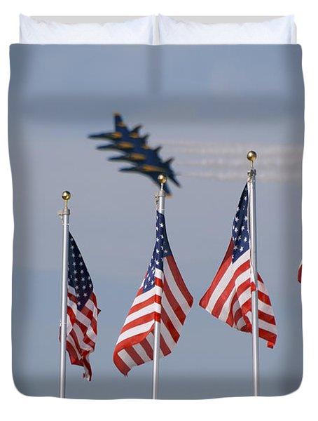 Freedom Flying Duvet Cover