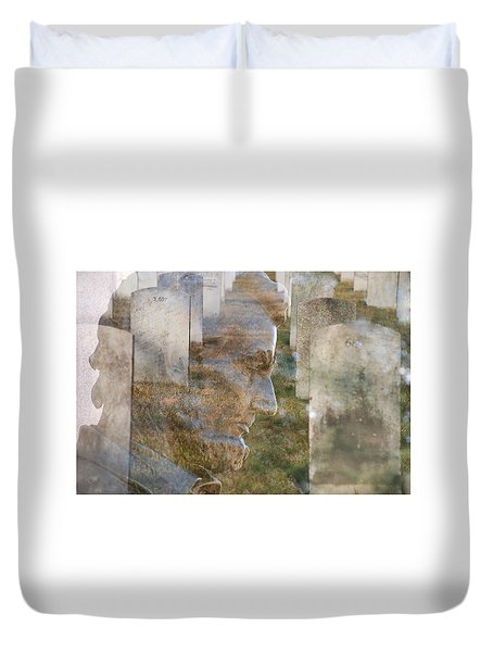 Freedom Duvet Cover by Jim Cook