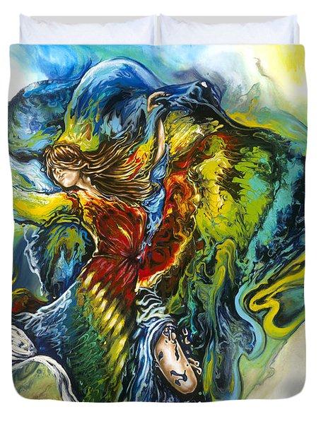 Freedom Duvet Cover by Karina Llergo