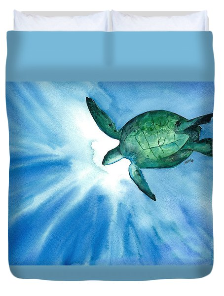 Sea Tutrle 2 Duvet Cover