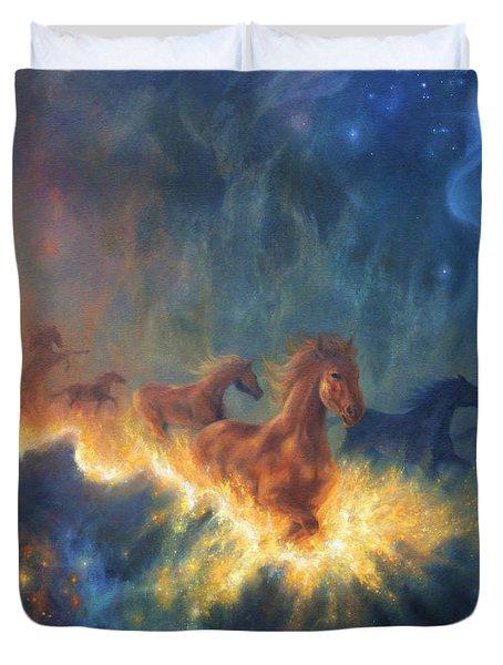 Freedom Of Dreaming Duvet Cover